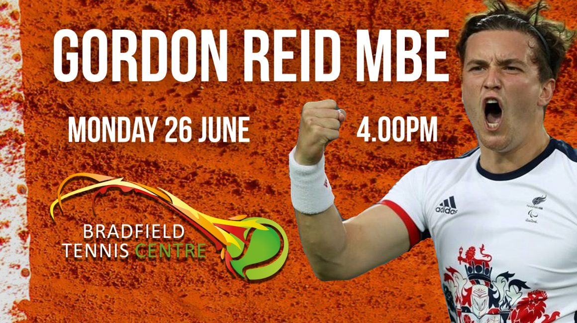 Clay Court Opening by Gordon Reid MBE